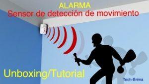 Alarma-con-sensor-de-movimiento-UnboxingTutorial