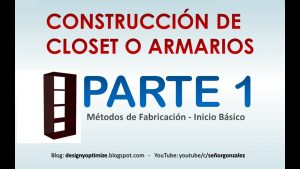 CURSO-CONSTRUCCION-DE-CLOSET-O-ARMARIOS-PARTE-1