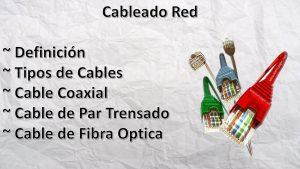 Cableado-Red