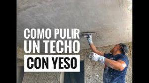 Como-Pulir-Un-Techo-Con-Yeso