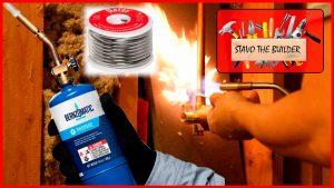 Como-instalar-el-grifo-tuberia-y-valvula-para-una-ducha-Soldando-tuberias