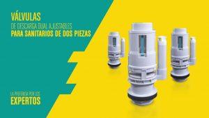 Como-instalar-la-Valvulas-de-descarga-Dual-para-Sanitarios-Dos-Piezas-Grival