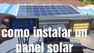 Como-instalar-un-panel-solar-PASO-A-PASO