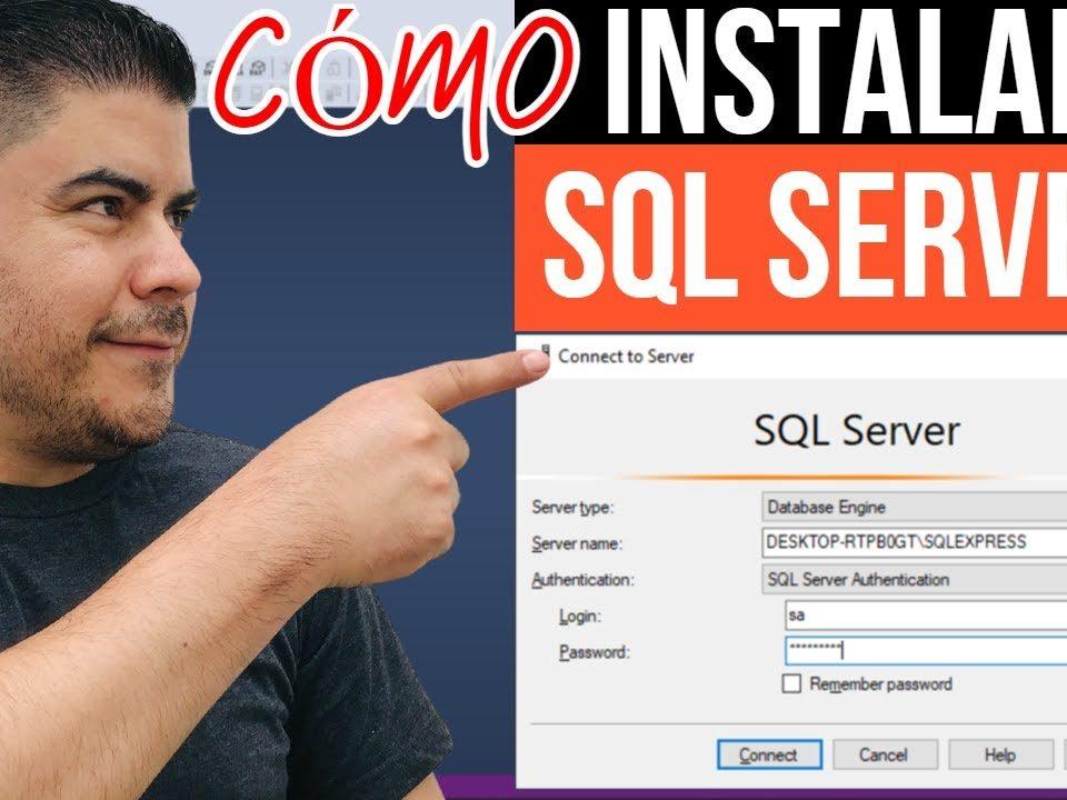 Como-instalar-y-configurar-SQL-SERVER-paso-a-paso