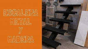 Construccion-Escalera-Metal-y-Madera-Parte-1