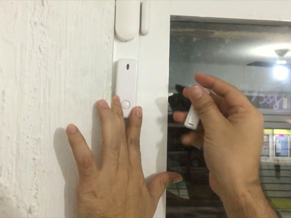 Instalacion-sensor-magnetico-inalambrico-433MHz-en-puerta-o-ventana-Alarmas-tera