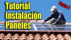 Montaje-paneles-solares-en-tejado-Parte-1