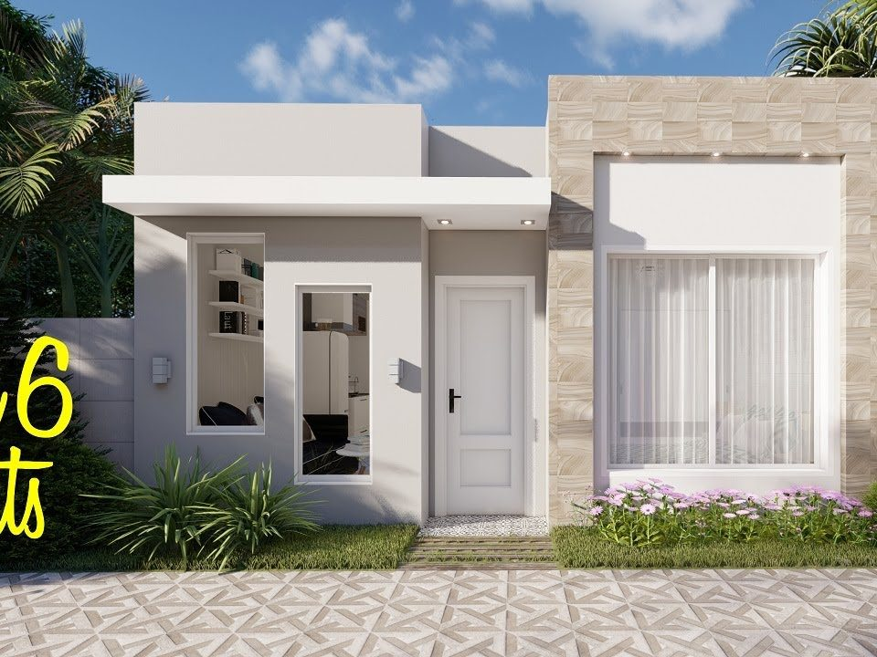 Casa-pequena-de-6x6-metros-Planos-de-casas-pequenas